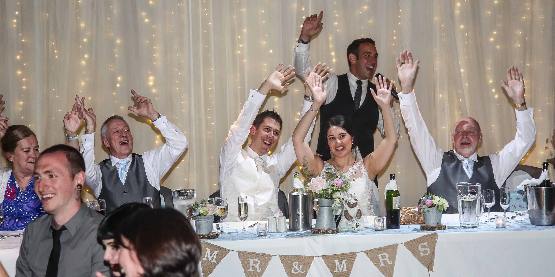 Wedding entertainment at Rivington Hall Barn 24th June 2016